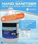 New Product - Liquid Hand Sanitizer